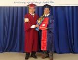 Trao bằng tốt nghiệp cho 67 sinh viên chuyên ngành Quản lý môi trường