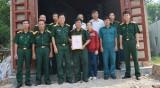 Quân đoàn 4: Tặng 12 nhà tình nghĩa cho quân nhân có hoàn cảnh khó khăn