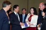 Thủ tướng đối thoại với doanh nghiệp tại Diễn đàn 2014