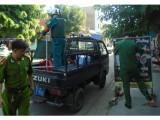 Phường An Phú, Thuận An: Ra quân lập lại trật tự đô thị