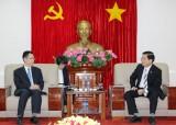 Ông Trần Thanh Liêm, Phó Chủ tịch UBND tỉnh Bình Dương: Tiếp đại diện Cơ quan Hợp tác Quốc tế Nhật Bản