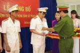 Công bố quyết định thành lập Phòng Cảnh sát PCCC số 6
