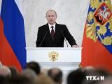 Tổng thống Nga Vladimir Putin đọc Thông điệp liên bang 2014