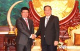 Phó Thủ tướng Phạm Bình Minh thăm chính thức Lào