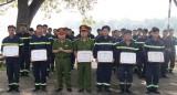 Bế giảng lớp huấn luyện nghiệp vụ cứu nạn, cứu hộ