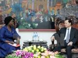 Phó Thủ tướng tiếp Giám đốc Ngân hàng Thế giới tại Việt Nam