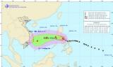 Sáng sớm 9-12, bão Hagupit sẽ vào phía Đông biển Đông
