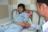 Nữ công nhân bị hành hung vì ghen?