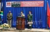 Kỷ niệm ngày thành lập Quân đội Nhân dân Việt Nam tại Nam Phi
