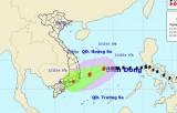 Tâm bão số 5 cách Khánh Hòa-Ninh Thuận khoảng 400km
