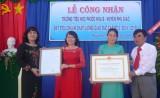 Trường tiểu học Phước Hòa B (Phú Giáo): Đón nhận bằng công nhận trường đạt chuẩn chất lượng giáo dục mức độ 3