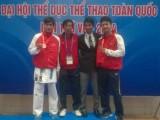 Nguyễn Thanh Duy giành HCV karatedo cho Bình Dương