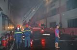 TX.Dĩ An: Diễn tập phương án chữa cháy và cứu nạn cứu hộ