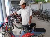 Trộm xe đạp điện trong trường học