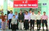 Bàu Bàng: Trao tặng nhà tình nghĩa cho các đối tượng chính sách