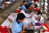 Hiến máu tình nguyện đợt 5-2014