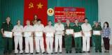 Hội cựu chiến binh phường An Bình, TX.Dĩ An: Kỷ niệm 70 năm Ngày thành lập Quân đội nhân dân Việt Nam