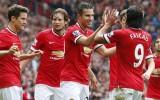 Radamel Falcao giải cứu Manchester United