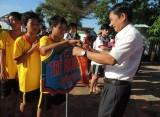 Thị xã Tân Uyên: Tổ chức Giải đua thuyền bầu truyền thống mở rộng năm 2014