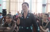 Đoàn đại biểu HĐND tỉnh tiếp xúc cử tri phường Đông Hòa, TX. Dĩ An