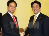 Thủ tướng điện mừng Thủ tướng Nội các Nhật Bản Shinzo Abe