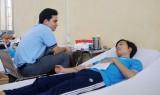 Trường Đại học Thủ Dầu Một: 300 sinh viên hiến máu tình nguyện