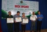 Hội Cựu Thanh niên xung phong huyện Dầu Tiếng nhận cờ thi đua xuất sắc
