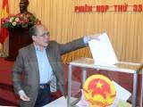 Đảng đoàn Quốc hội công bố kết quả lấy phiếu tín nhiệm