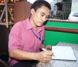 Công nhân Đinh Văn Thiện:  Học để có công việc tốt hơn