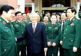 Không thể phủ nhận vai trò lãnh đạo của Đảng đối với quân đội