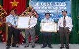 Trường THCS An Bình (Phú Giáo): Đón nhận bằng công nhận trường đạt chuẩn giáo dục cấp độ 3