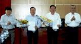 Bổ nhiệm cán bộ Ban Nội chính Tỉnh ủy