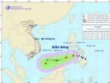 Vị trí tâm bão Jangmi ở phía Đông biển Xu lu của Philippines