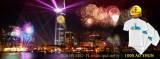 Cùng Tân Hiệp Phát đón năm mới 2015 rực rỡ với pháo hoa và laser 3D