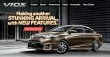 Toyota Vios 2015 sắp ra mắt tại Đông Nam Á