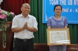 Ủy ban MTTQ Việt Nam TX.Thuận An: Hội nghị toàn thể lần thứ 4, khóa X