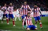 Real thua tan tác trước Atletico Madrid