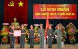 Cục Chính trị - Quân đoàn 4: Đón nhận Huân chương bảo vệ Tổ quốc hạng ba
