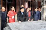 Chủ tịch nước kiểm tra việc bảo tồn Khu di tích Cố đô Hoa Lư