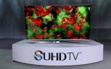 TV SUHD cong của Samsung được bán ở Việt Nam tháng 4