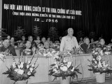 """Tư tưởng """"lấy cần làm gốc"""" trong xây dựng chủ nghĩa xã hội"""