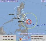 Bão Mekkhala áp sát Philipines, hướng về biển Đông