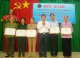 Phú Giáo: Tổng kết công tác Hội cựu thanh niên xung phong năm 2014