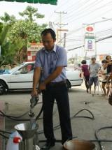 Kiểm tra đột xuất Cửa hàng xăng dầu Bình Chuẩn