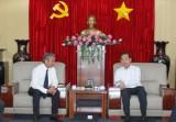 Lãnh đạo Tổng Công ty Điện lực Miền Nam: Thăm và chúc tết lãnh đạo tỉnh Bình Dương