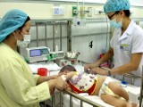 Cả nước có hơn 1.500 trường hợp mắc bệnh tay chân miệng