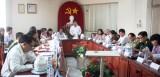Lãnh đạo tỉnh kiểm tra tình hình chuẩn bị tết Nguyên đán tại thị xã Thuận An