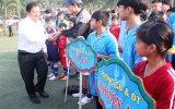 Khai mạc môn bóng đá, bóng chuyền Giải thể thao học sinh