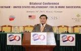 Hội thảo quốc tế quan hệ Việt Nam-Mỹ: