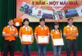 Đoàn trường Đại học Thủ Dầu Một: Tổ chức chương trình kỷ niệm 5 năm thành lập đội xung kích